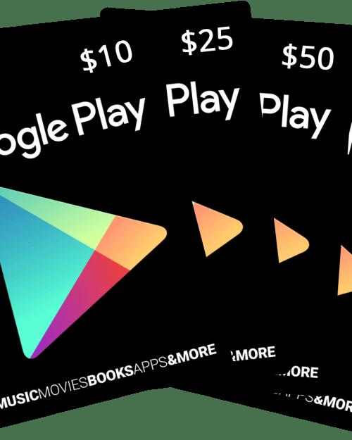 Google Play gift card in bangladesh