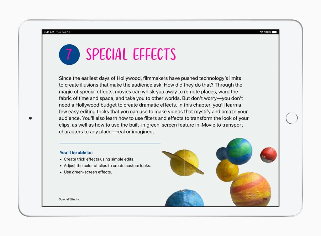 Apple ipad eccr video 032321