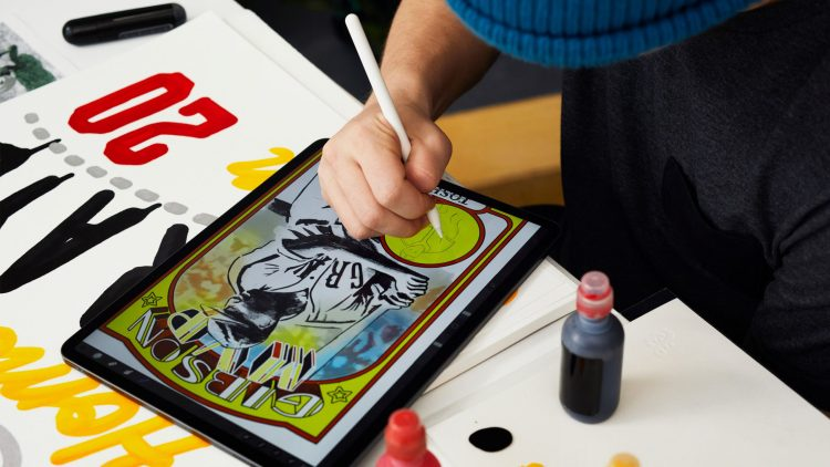 Here's how Eric AKA Efdot creating unbelievable cards using iPad Pro and Apple Pencil