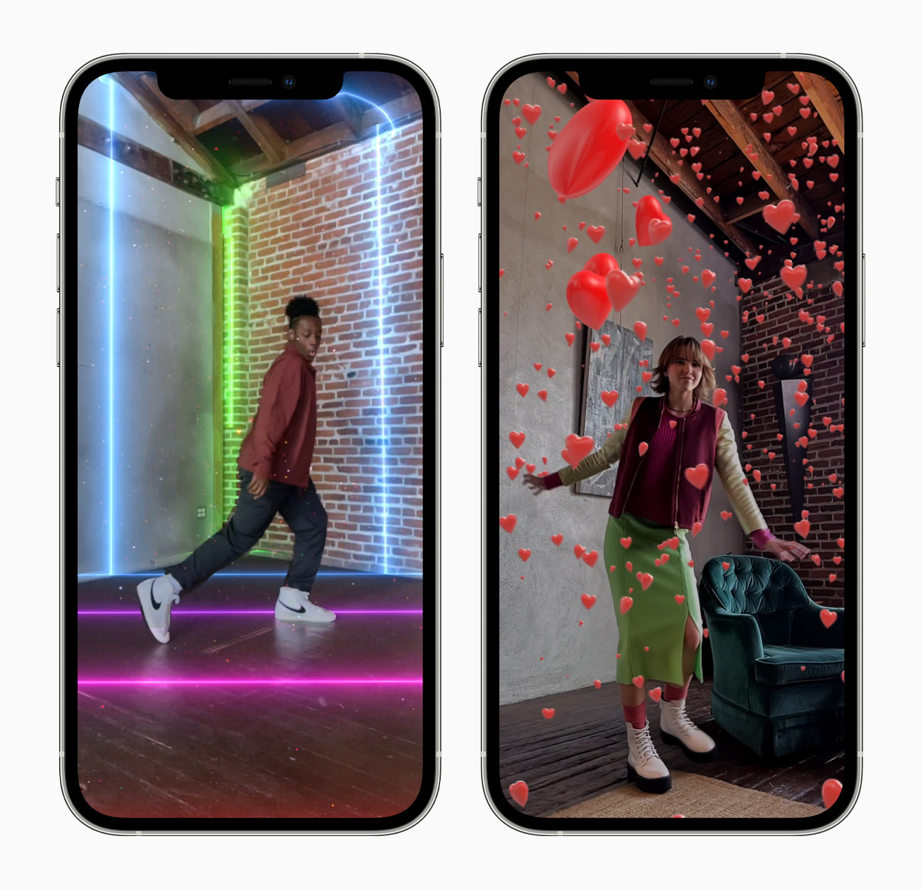 Clips App Version 3.1 Brings AR Spaces to iPhone 12 Pro and iPad Pro Models