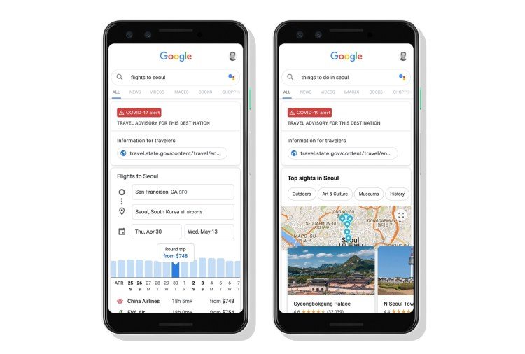Google Share Some Travel Guidance When You're Travel