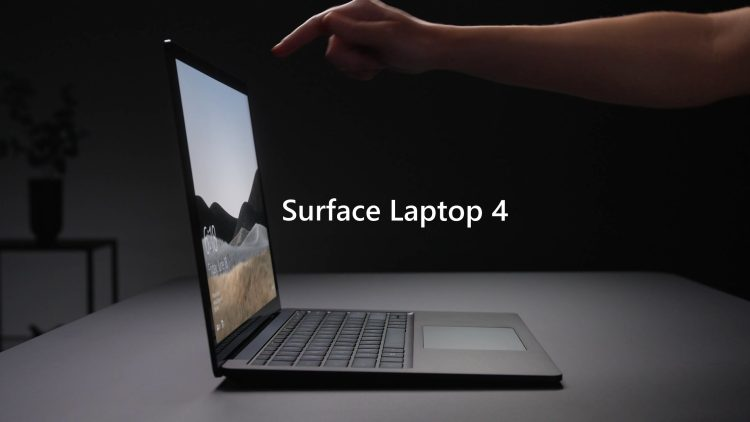 Microsoft Launched New Surface Laptop 4 with Choice of Intel or AMD Processors
