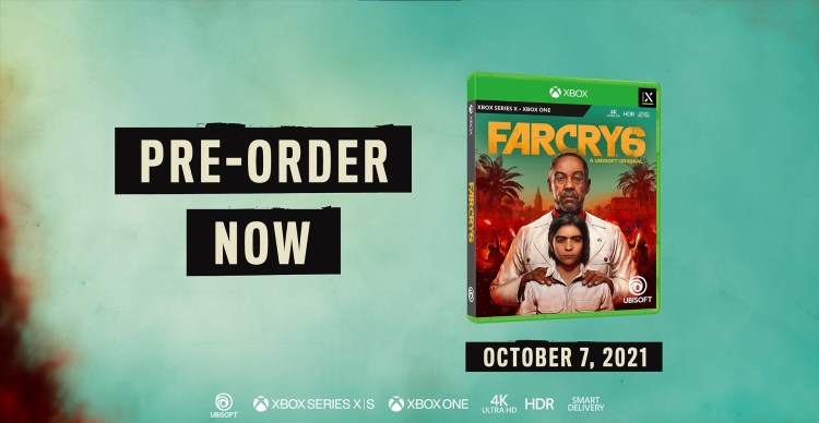 Far Cry 6 is available for pre-order and launching on October 7