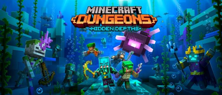 Minecraft Dungeons Hidden Depths DLC Will Be Released May 26