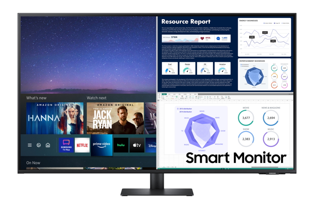"""Samsung announced a new """"do-it-all"""" screen monitor"""
