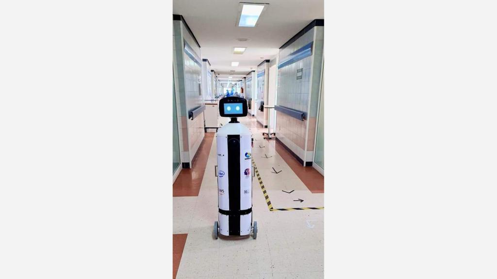 Mexican Startup 'Roomie Robot' Assisting Medical Staff At COVID-19 Hospitals