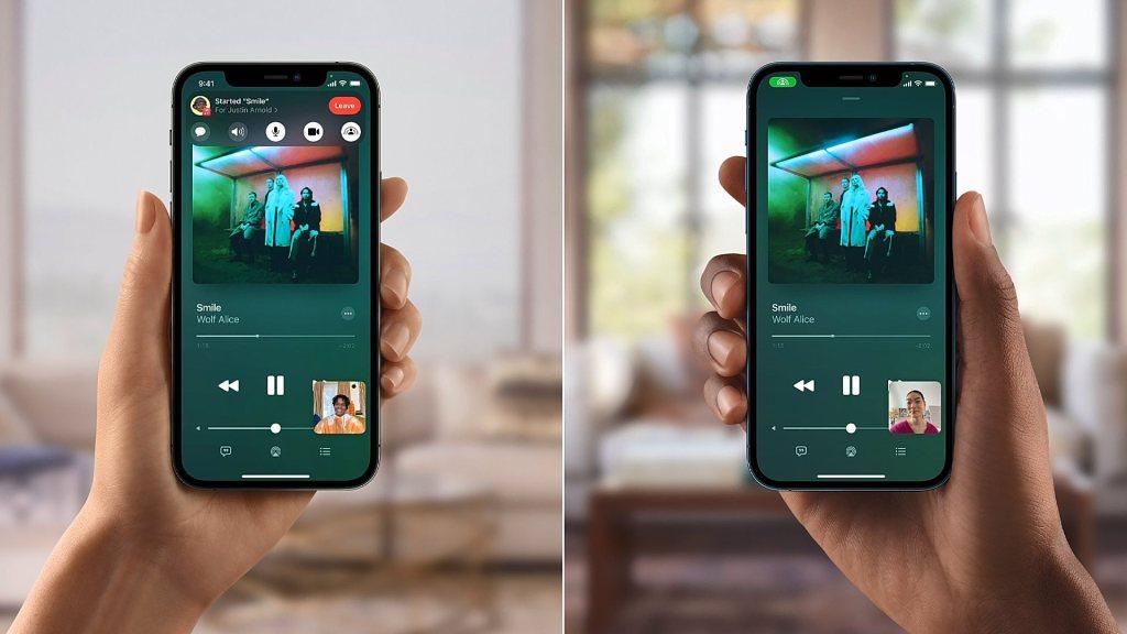 Apple iOS15 SharePlay Music 060721.mp4 snapshot 00.05 2021.06.08 11.46.12