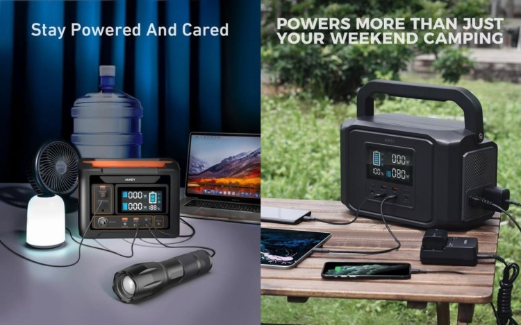 Prime Day Deals - AUKEY Portable Power Stations