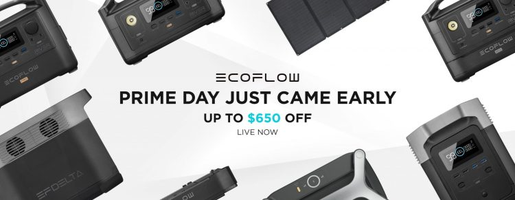 Save up to $650 on EcoFlow Power Stations