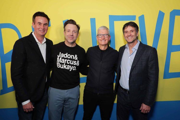 "Apple celebrates season two premiere of popular global hit series ""Ted Lasso"""