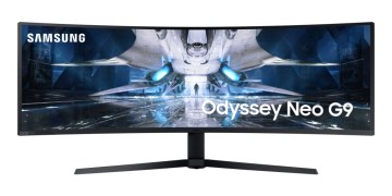 Samsung announced the industry's first Odyssey Neo G9 curved gaming monitor