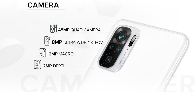 Redmi Note 10 Camera Setup Breakdown
