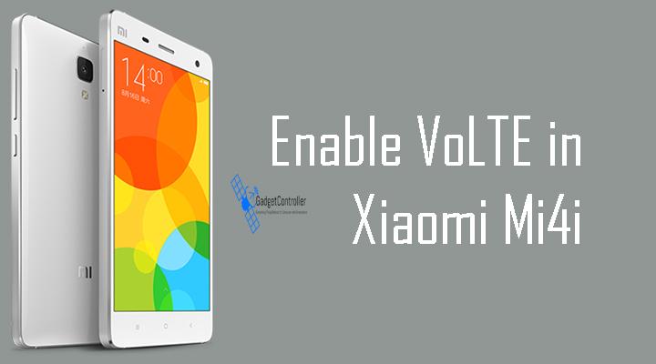 How to Enable VoLTE service on Xiaomi Mi4i (Reliance Jio)