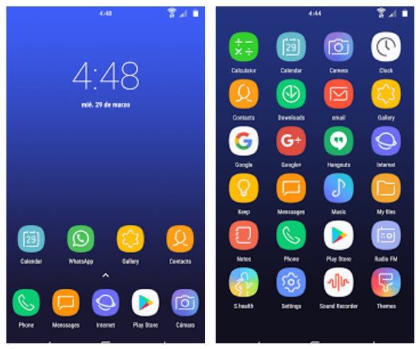 Download Samsung Galaxy S8 Icon Packs
