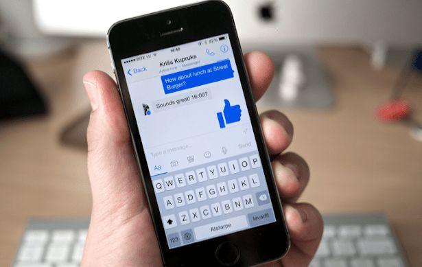 Messenger kontrol privasi