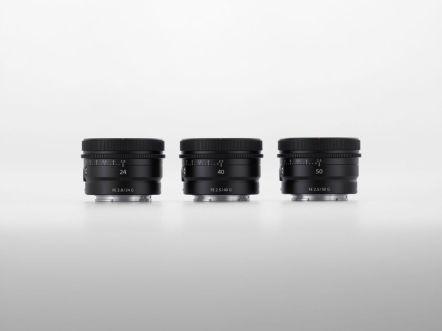 Foto 3 - Tampilan FE 24mm F2.8 G, FE 40mm F2.5 G, FE 50mm F2.5 G (1)