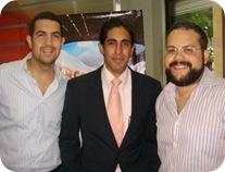 Foto 1 Manuel Castillo, Jaime Lambertus y José Delio Ares
