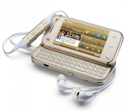 Nokia N9780 Mini Gold edition