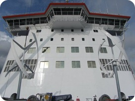Ferry wind power turbine 3