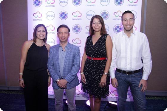 Tania Baquero,  José Rosario, Niurka Montero, Fernando Mateo