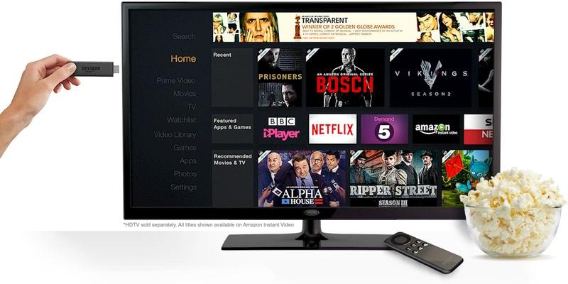 Amazon Fire TV Stick Screen Options
