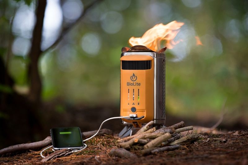 Biolite Outdoor Camping Stove Best Outdoor Gifts
