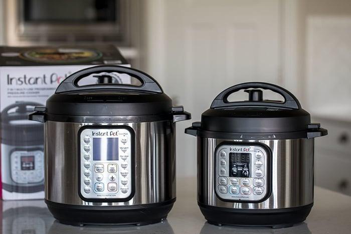 Instant Pot Mini and 6 Quart Bluetooth Multi Use Pressure Cooker