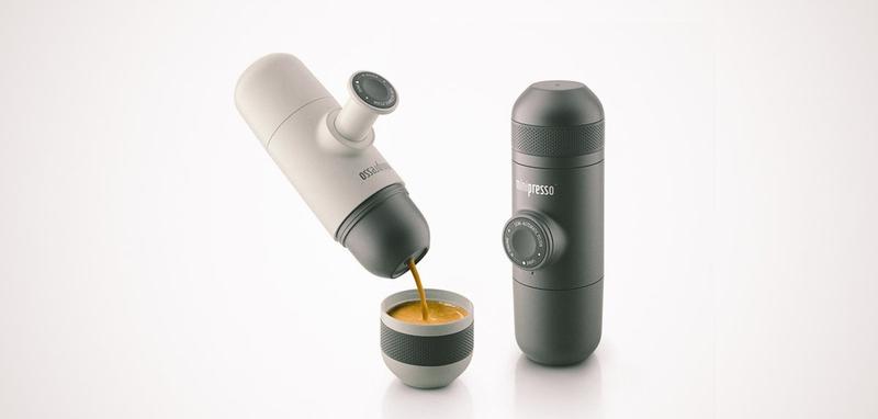 Minipresso GR Travel Espresso Maker Best Gifts Banner