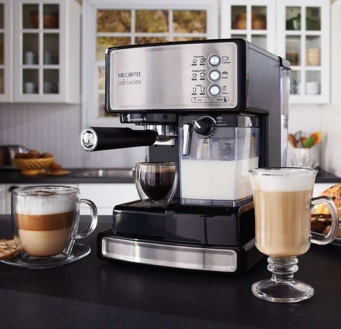 Mr Coffee ECMP1000 Cafe Barista Espresso and Capuccino Maker Best Gifts