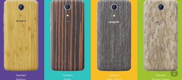 Zopo Speed 7C dengan Cover Bambu dan Kayu Dirilis 23