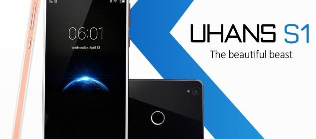 Uhans S1: RAM 3GB, ROM 32GB Android 6 Harga cuma 1.8 Juta et