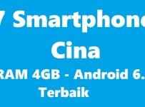 7 smartphone cina ram 4gb android 6 terbaik
