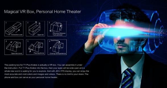 "Vkworld T1 Plus Kratos: Phablet 6"" dengan VR Box Harga Murah vr"