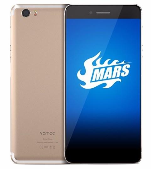 Vernee Mars dengan RAM 4GB, Fingerprint Samping Dirilis: Harga dan Spesifikasi g
