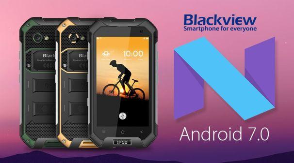 Blackview BV6000 dapat Update Android 7.0 Nougat pada November 2016 f