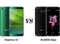 Adu Smartphone Bezel-Less: Bluboo Edge VS Elephone S7 1