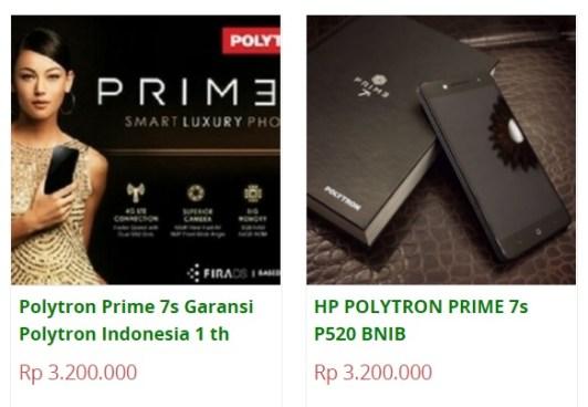 Turun 600ribu, Harga Polytron Prime 7S kini cuma 3,2 Juta Saja d