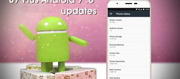 Oukitel U7 Plus mendapat Update Nougat: Juga Turun Harga f