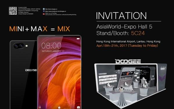 Lebih Keren dari Xiaomi Mix: ada Doogee Mix dengan 3-Bezel-Less & Spek Dahsyat 7