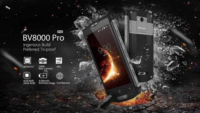 Blackview BV8000 Pro: Smartphone Rugged IP68 dengan RAM 6GB 3