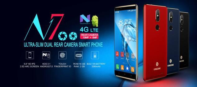 Kingzone N7 diumumkan: Smartphone Kompak RAM 2GB Harga Murah d
