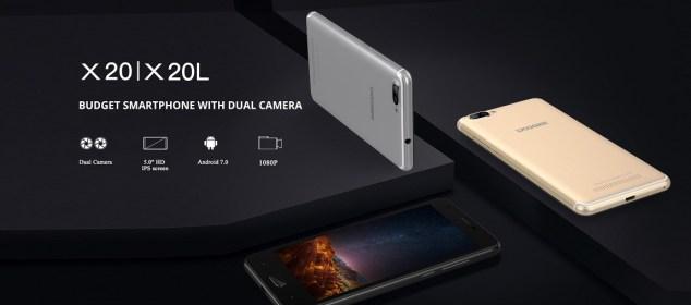 Doogee X20 dan X20L: Smartphone Kamera Belakang Ganda 800 Ribuan 2