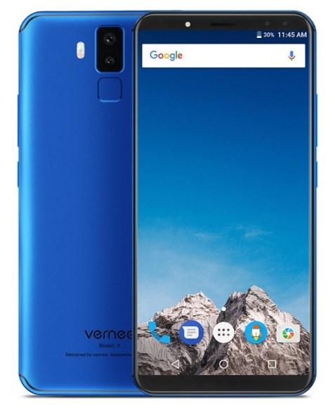Vernee X: Phablet Flagship 4 Kamera, ROM 128GB, Baterai 6200 mAh 3