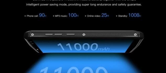 Dengan Quick Charge 5V/5A di Oukitel K10: 11000 mAh Penuh Dalam 170 menit 3