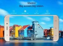 AllCall Madrid dengan Layar 5.5 inci: Harga dan Spesifikasi 1