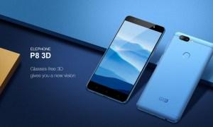 Elephone P8 3D: Phablet Visual 3D Tanpa Kacamata 3