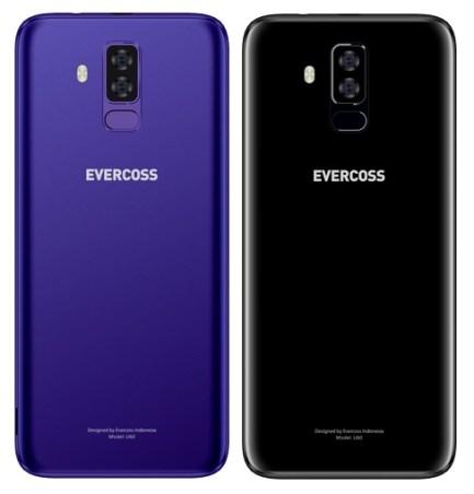 Evercoss U60: Phablet layar 5.7 inci 18:9 dan Kamera Ganda 3