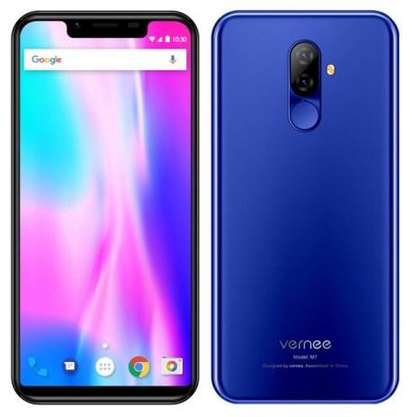 Tampang ala iPhone X juga akan Hadir di Vernee M7 3