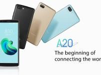 Blackview A20 dirilis dengan Layar 5.5 inci 18:9 dan Android Oreo Go 3