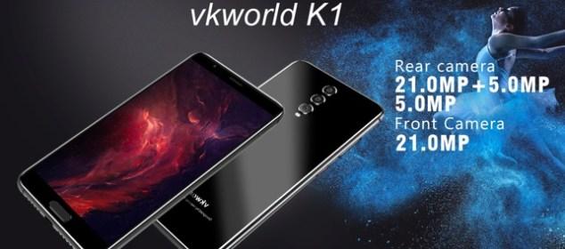 Spesifikasi Vkworld K1 Triple Kamera diungkap: Bakalan Murah Nih!! 3